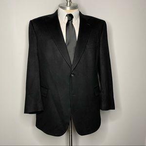 Jos A Bank Blazer Black cashmere 48L